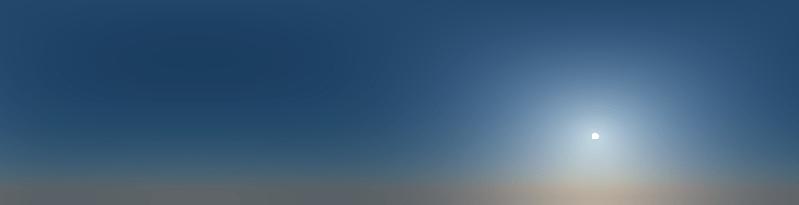 Sun and Sky Vray 3.4