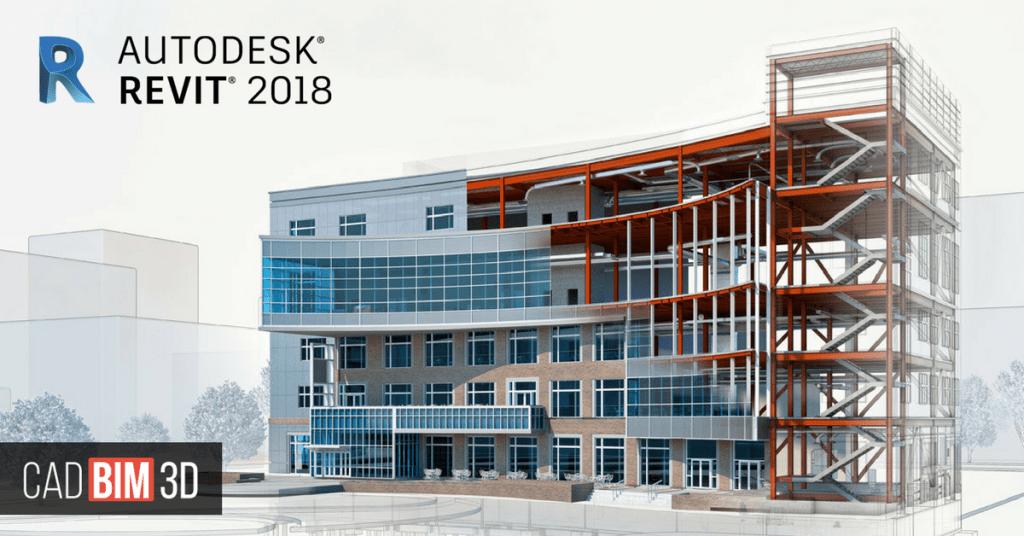 Edificio construido con revit 2018 tutoriales