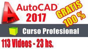 link al curso gratuito de Autocad 2017