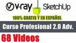 Link al curso de Vray 2.0 y Sketchup
