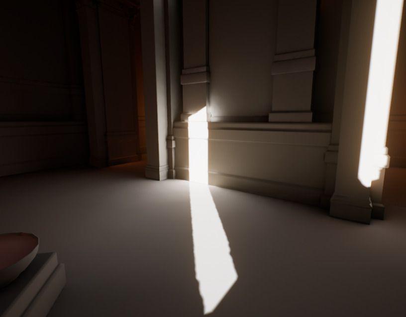 Comprimir mapa de luz deshabilitado - resolución 64
