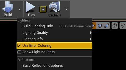 Habilitar el uso de error coloring