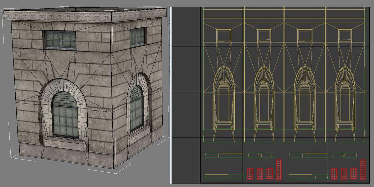Diseño Lightmap UV
