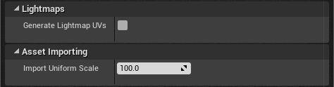 Opciones de importación a Unreal Engine 4 con GLTF