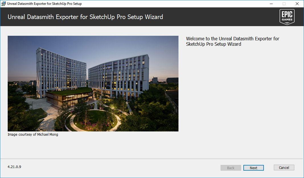 Instalación del plugin Datasmith exporter para Sketchup