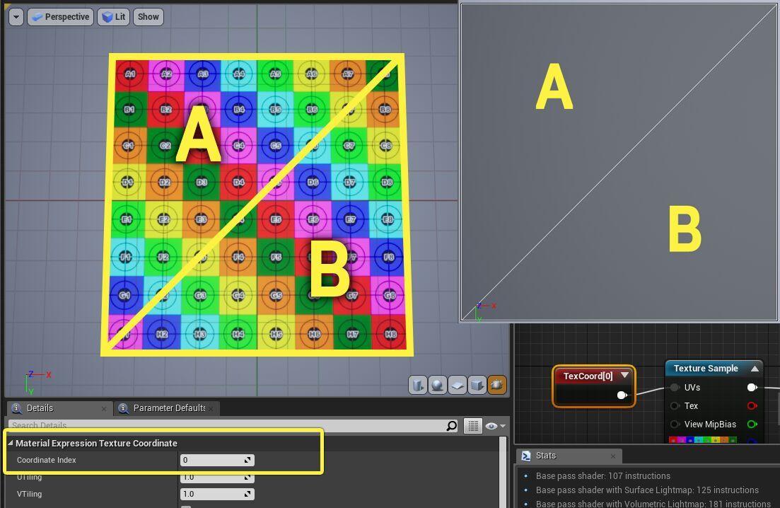 Trabajando con canales UV dentro de Unreal Engine 4